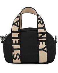 Stella McCartney Small Eco Boston Bag - Black