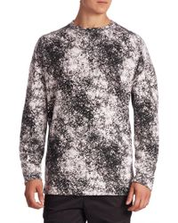 Zanerobe - Printed Crewneck Sweatshirt - Lyst