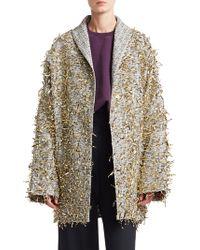 Rachel Comey - Hanabi Jacquard Garnish Coat - Lyst