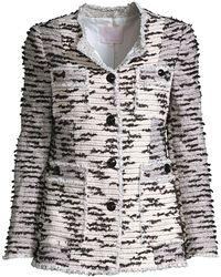 Rebecca Taylor Patchwork Tweed Jacket - Multicolor