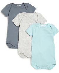 Petit Bateau - Baby's Solid Three- Piece Bodysuit Set - Lyst