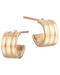Lana Jewelry 14k Yellow Gold Triple Huggie Earrings