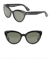 Oliver Peoples - Roella 55mm Polarized Cat Eye Sunglasses - Lyst