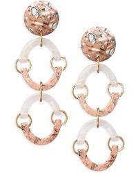 Lele Sadoughi | Confetti Rainbow Arch Earrings | Lyst