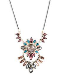 ABS By Allen Schwartz - Make Me Blush Crystal Pendant Necklace - Lyst