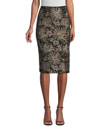 Trina Turk - Cocktail Soiree Southern Comfort Pencil Skirt - Lyst