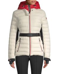 efca85f13 Lyst - Moncler Bruche Hooded Puffer Down Jacket in Black