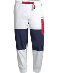 Polo Ralph Lauren Freestyle Nylon Colorblock Cargo Pants - Blue