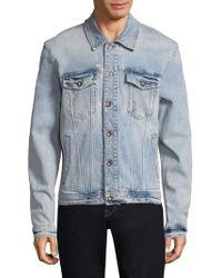 Joe's Jeans - Washed Denim Jacket - Lyst