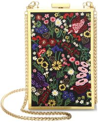 Alice + Olivia - Sophia Flower Crossbody Bag - Lyst
