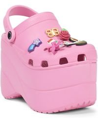 Balenciaga - Pink Foam Platforms With Charms - Lyst