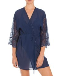 In Bloom - Lace Mesh Wrap - Lyst