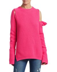 Tre by Natalie Ratabesi - Zip-off Sleeve Cashmere Sweater - Lyst