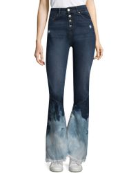 Each x Other - Bleached Flare Jeans - Lyst