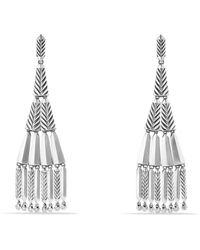 David Yurman - Stax Fringe Earrings With Diamonds - Lyst