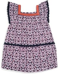 Roberta Roller Rabbit - Girl's Oceania Print Trapeze Dress - Lyst