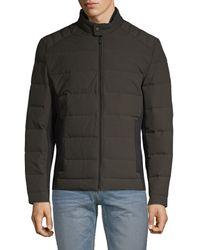 Michael Kors Full-zip Down Puffer Jacket - Green