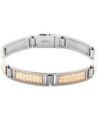 Effy - Textured Sterling Silver Bracelet - Lyst