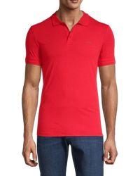 Armani Jeans Logo Polo - Red