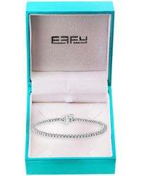 Effy 14k White Gold & Diamond Bracelet - Multicolour