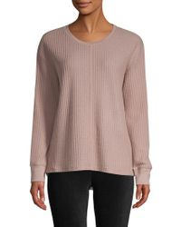 Marc New York - Feather Waffle Knit Pullover - Lyst