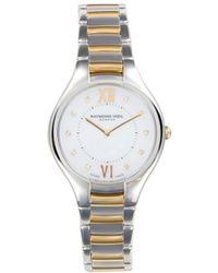 Raymond Weil Noemia Stainless Steel & 0.04 Tcw Diamond Bracelet Watch - Metallic