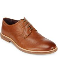 Ben Sherman - Brent Plain Toe Leather Oxfords - Lyst