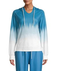 Wdny Tie-dyed Sweatshirt - Blue