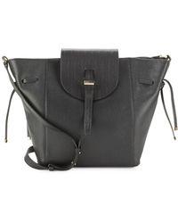 Meli Melo | Fleming Woven-flap Leather Shoulder Bag | Lyst