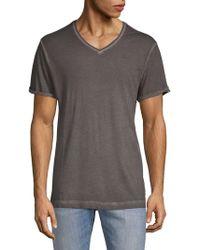 G-Star RAW - V-neck Short-sleeve Cotton Tee - Lyst