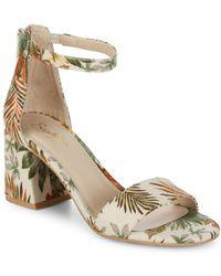Seychelles - Tropical Block Heel Sandals - Lyst