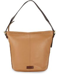 Cole Haan - Loralie Leather Bucket Bag - Lyst