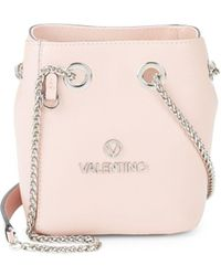 Valentino By Mario Valentino - Babou Leather Bucket Bag - Lyst