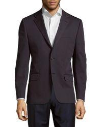Hickey Freeman - Cotton Button-front Jacket - Lyst