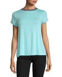 Jane And Bleecker - Smooth Rayon-blend Tee - Lyst