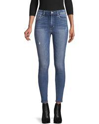 Joe's Jeans High-rise Skinny Ankle Jeans - Blue