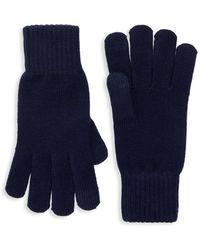 UGG Tech Knit Gloves - Blue