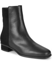 Aquatalia - Leather Ankle Boots - Lyst