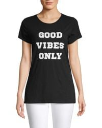 Threads For Thought - Good Vibes Cotton Tee - Lyst