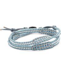 Chan Luu - Beaded Leather Wrap Bracelet - Lyst