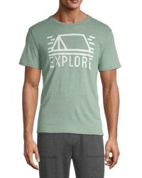 Threads For Thought Graphic T-shirt - Green