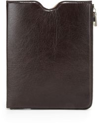 Maison Margiela Leather Sleeve For Ipad 1, 2 & 3 - Multicolour