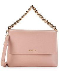 Furla Gaya Leather Crossbody Bag - Multicolour