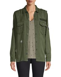 Rails Kato Military Shirt - Green