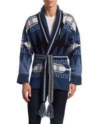 f3230d68ad Brooks Brothers · La Societe x SAGUARO - La Société X Saguaro Cashmere  Sweater Robe - Lyst