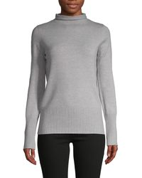 French Connection Roll-neck Jumper - Gray