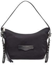 Rebecca Minkoff Bowie Nylon Shoulder Bag - Black