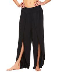 Gaiam - Tyra Wide-leg Petal Trousers - Lyst