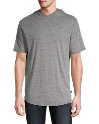 Threads For Thought Pace Triblend Heathered Hoodie - Grey