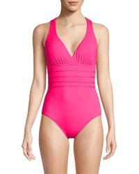 La Blanca - Island Strappy One-piece Swimsuit - Lyst